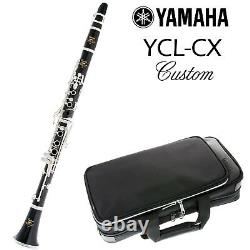 Yamaha YCL-CX Custom Clarinet in Bb Professional Model Made in Japan