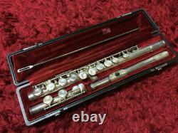 Yamaha YFL-311 Flute Standard Silver E-Mechanics w / Hard Case