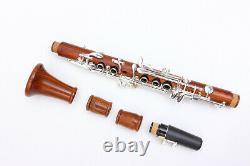 Yinfente Clarinet Rosewood Eb Key Clarinet E flat Good Sound Free Case #C8