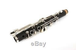 Yinfente Professional Clarinet G key Clarinet Ebonite Wood Nickel Plated Key